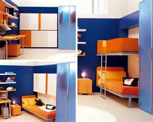 Bunk Beds In A Small Room Small Spaces Lollisoft Murphy Bunk Beds Hiconsumption