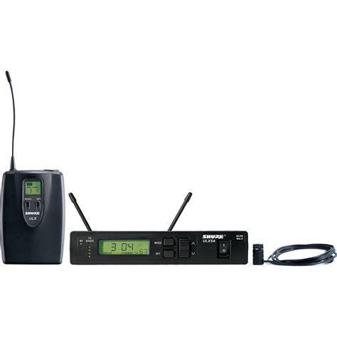 Mic Shure Ulx 4nkoper Alumenium Wireless shure ulx professional series wireless lavalier ulxs14 85 j1