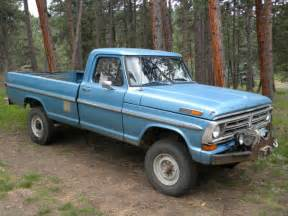 1972 Ford F250 For Sale 1972 Ford F250 4x4 Quot Highboy Quot Solid Truck Low Original
