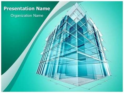 Architectural Engineering Powerpoint Template Is One Of The Best Powerpoint Templates By Powerpoint Templates Building Construction