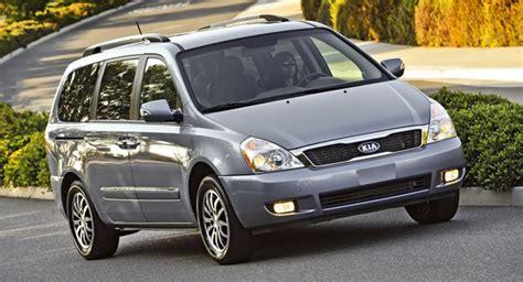 Kia Minivan 2013 Kia To Drop Sedona Minivan For The 2013my But Plans To