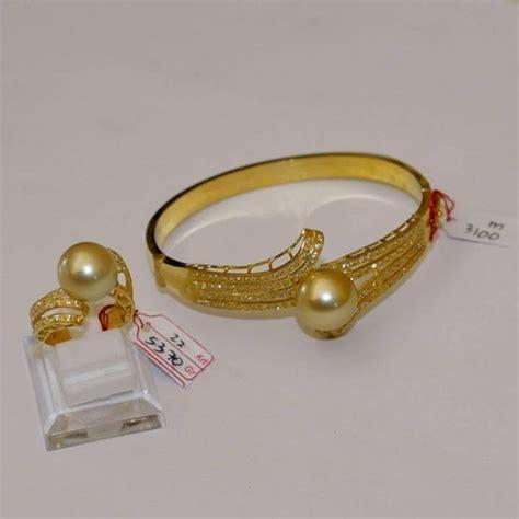 Gelang Emas Mutiara Laut order surabaya cincin gelang emas 22k mutiara laut