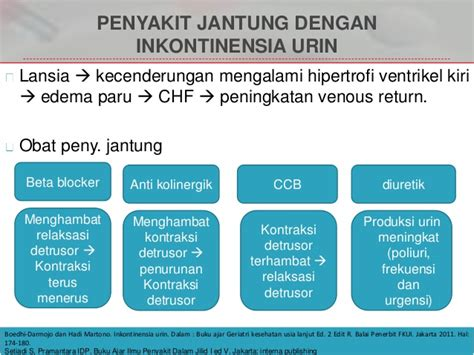 Buku Ajar Ilmu Penyakit Dalam Ed 6 Jilid 1 2 3 Original Termurah 2 inkontinensia urin