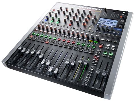 Mixer Audio 16 Ch soundcraft si performer 1 16 channel digital live sound mixing console agiprodj