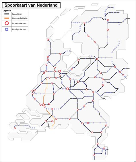 Or Nederland File Spoorkaart Nederland Ic Stations Png Wikimedia Commons