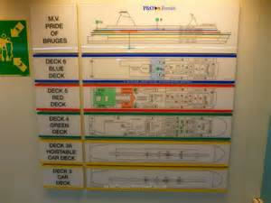 Cruise Ship Floor Plan pride of bruges review mini cruise reviews