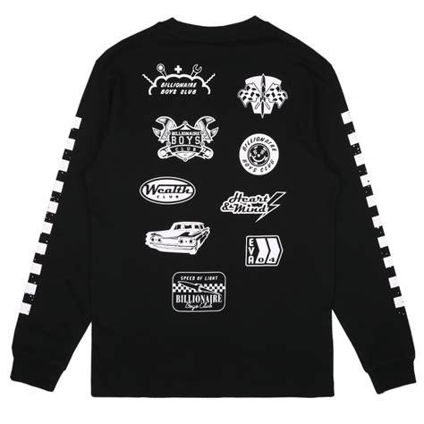 billionaire boys club mechanics sleeve clothing
