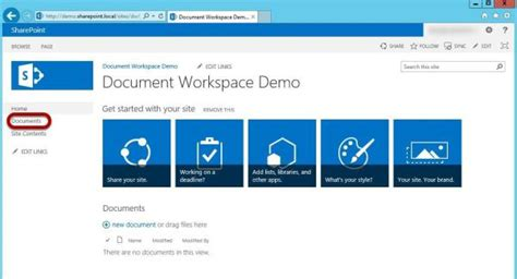sharepoint 2013 document template how to create a document workspace in sharepoint 2013