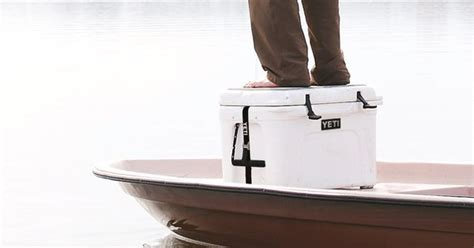 cheapest place to buy yeti coolers world s coolest casting platform yeti at blue ridge