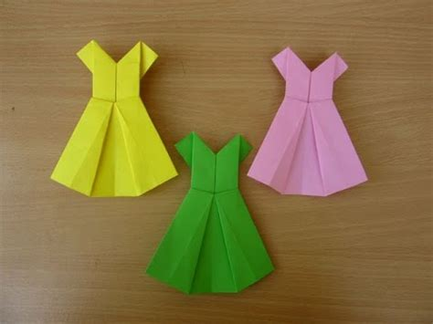 Make A Dress Out Of Paper - how to make a paper dress easy tutorials
