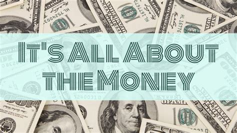 all about money big it s all about the money youtube