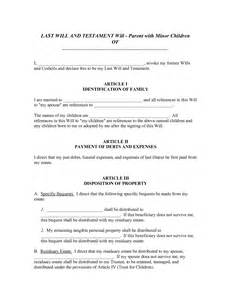 blank last will and testament template best photos of write a will template sle writing form