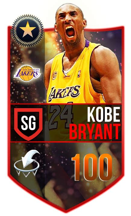nba live mobile card template new bryant legend card graphics topic nba