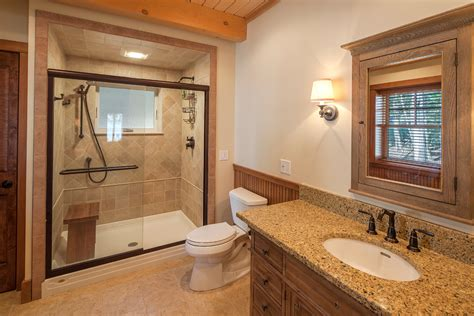 Earth Tone Bathroom Designs Two Different Tiles On Vanity Wall Search Bathroom Project Vanities