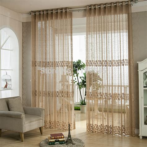 luxury modern curtains aliexpress com buy high quality solid window screening