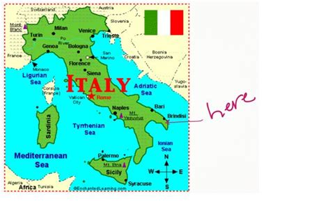 italy map hott italian