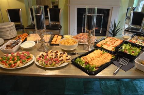 foods for buffets birthday catering derbyshire staffordshire peak district soiree food catering