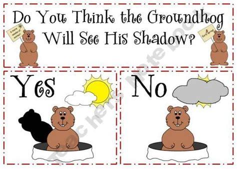 groundhog day kindergarten best 25 preschool groundhog ideas on ground