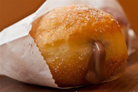 cream filled chocolate doughnuts recipe dishmaps