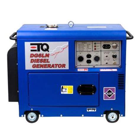 etq 5000 watt 10 hp diesel generator discontinued dg6ln