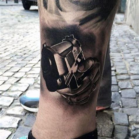tattoo gun best 50 gun tattoos for men explosive bullet design ideas