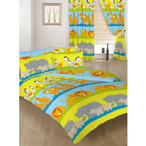 Childrens Quilt Sets by Children S Duvet Quilt Cover Sets Or Curtains Bedding