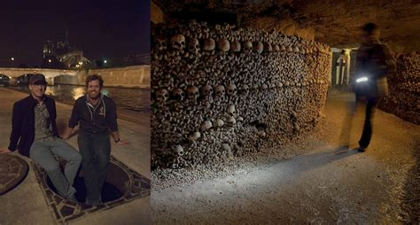 Where Was Ghost Writer Filmed by As Above So Below Filmed In The Eerie Catacombs Of Paris