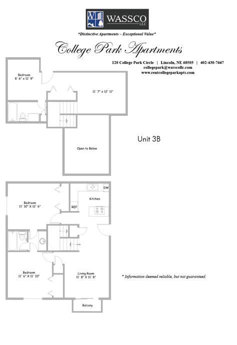 college floor plans floorplans rent college park apartments