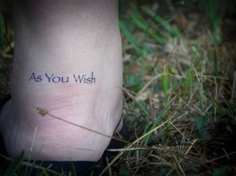 as you wish tattoo 17 best ideas about princess on