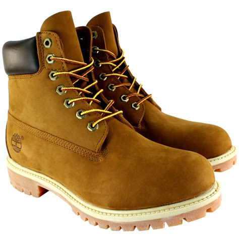 Timberland Leather Original mens timberland premium classic leather original lace up