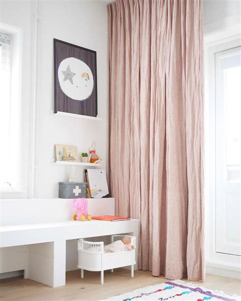 Pink Linen Curtains 25 Best Ideas About Linen Curtains On Pinterest Design Of Wardrobe Wardrobe Rail And Ideal