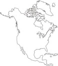 America Outline by America Map Outline