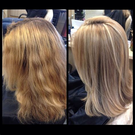 warm color hair highlight palette color correction highlights and lowlights light blonde