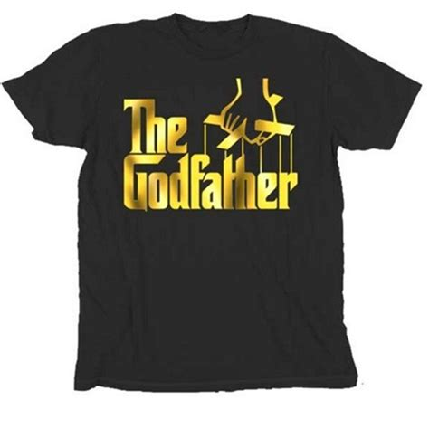 Tshirt The Godfather Gold the godfather t shirt 16 99
