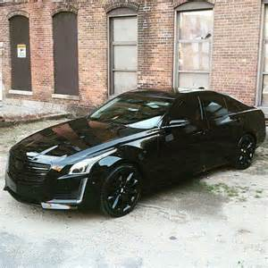 Cadillac Cts Murdered Out Cadillac Cadillac Cts And Murdered Out On