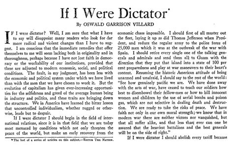Worlds Best Essayists by If I Were Dictator Writers In The 30s Plot For A Better World The Nation