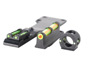 fiber optic bead sight truglo tru bead turkey sight set universal fits shotgun