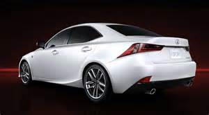 2014 lexus is 350 f sport rear 7 8 view egmcartech