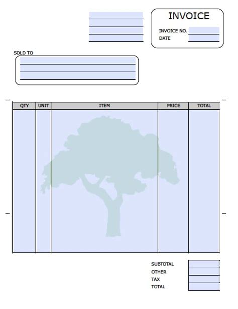 free pool service invoice template excel pdf word doc