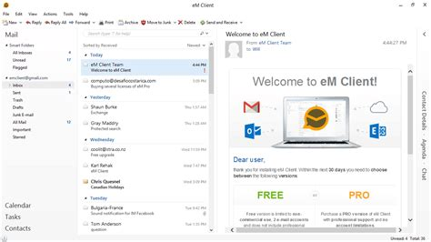 best desktop email client best windows 10 email clients and apps to use