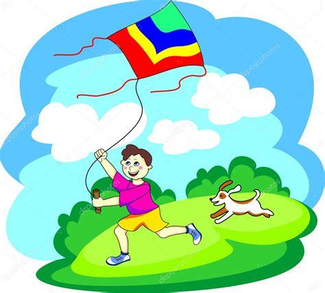 Adia Boys boy with a kite stock vector 169 adia 10542920