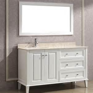 Vanities Definition 55 White Bathroom Vanity