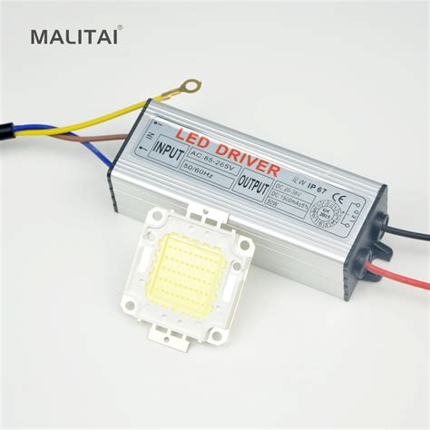 Lu Sorot Led 20 Watt 1set enough watt 10w 20w 30w 50w high power integrated led
