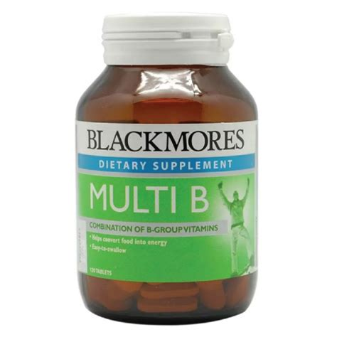 Vitamin B Complex Blackmores blackmores multi b green wellness