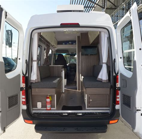 Sprinter Floor Plans by Mercedes Sprinter 316 Transformed Into A Motorhome Tynan