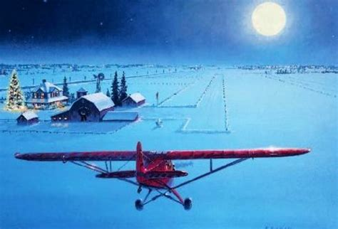 aopa christmas card i want to live here aviation
