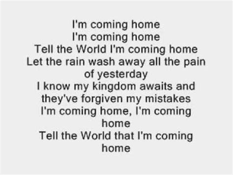 i m coming home by p diddy with lyrics on repeat