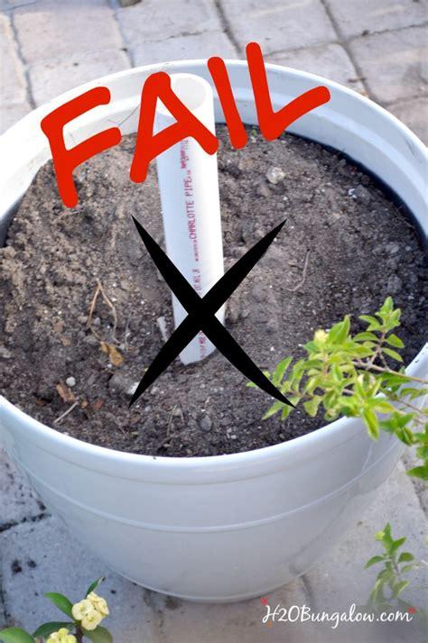 DIY Planter Umbrella Stand Tutorial   H20Bungalow
