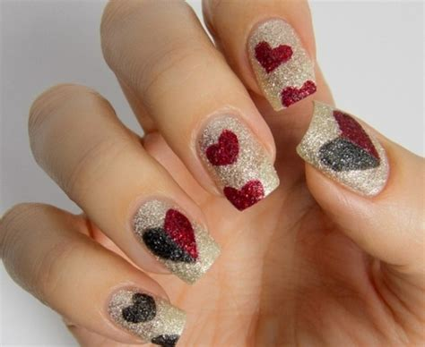 Modele Ongle En Gel Valentin by 1001 Nails Arts Stup 233 Fiants Pour Une Manucure Originale