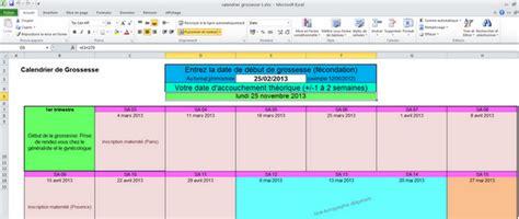 Calendrier De Suivi De Grossesse T 233 L 233 Charger Calendrier De Grossesse Excel Pour Windows